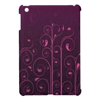 Awesome purple floral design cover for the iPad mini