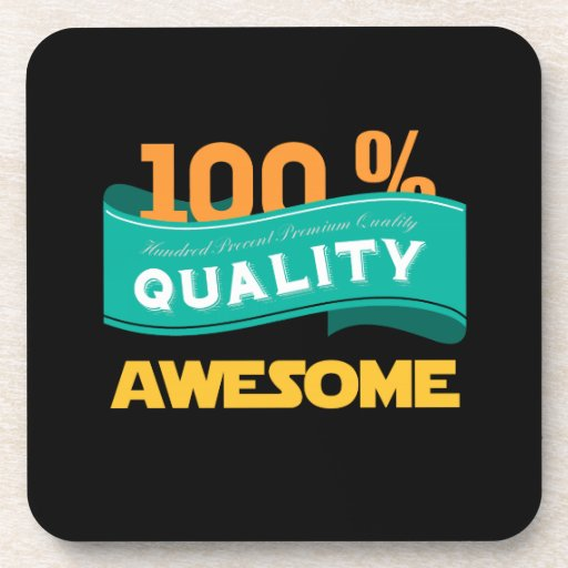 Awesome Quality Beverage Coasters