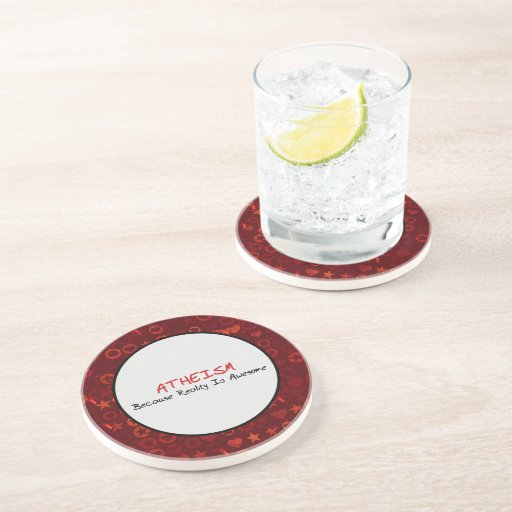 Awesome Reality Beverage Coaster