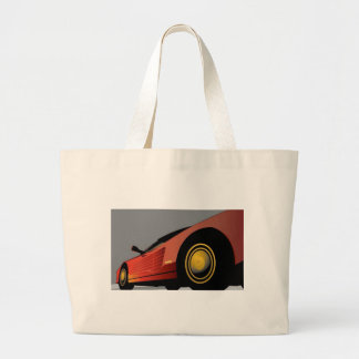 Awesome red car canvas bag