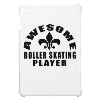 AWESOME ROLLER SKATING PLAYER CASE FOR THE iPad MINI