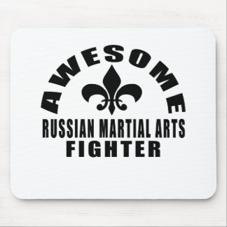 AWESOME RUSSIAN MARTIAL ARTS FIGHTER MOUSE PAD
