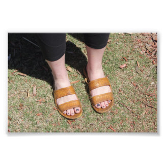 Awesome Sandals Photo Print