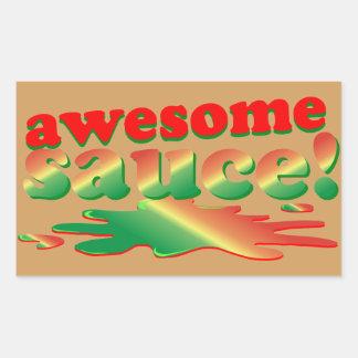 Awesome Sauce Rectangular Sticker