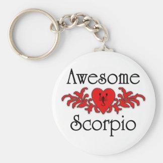 Awesome Scorpio Key Ring