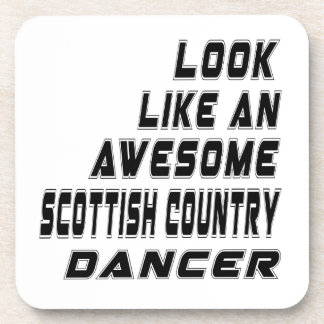 awesome Scottish Country Dancing Drink Coasters
