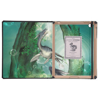 Awesome seadragon in a fantasy underwater world covers for iPad