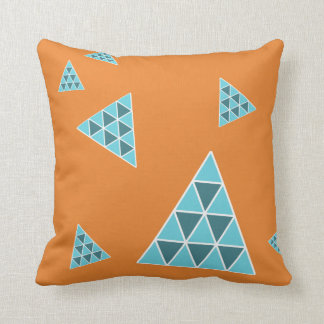 Awesome Seven Floating Pyramids Throw Pillow