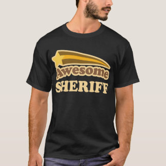 Awesome Sheriff Gift T-Shirt