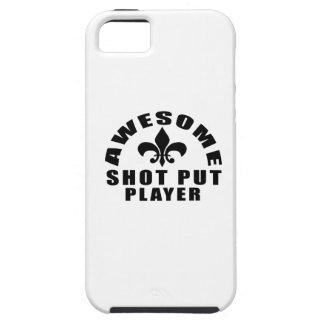AWESOME SHOT PUT PLAYER TOUGH iPhone 5 CASE