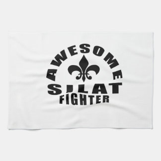 AWESOME SILAT FIGHTER TEA TOWELS