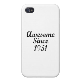 Awesome Since 1951 iPhone 4 Covers