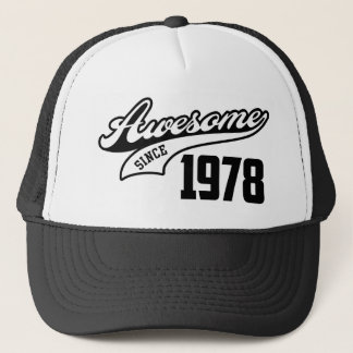 Awesome Since 1978 Trucker Hat