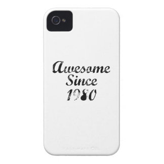 Awesome Since 1980 iPhone 4 Covers