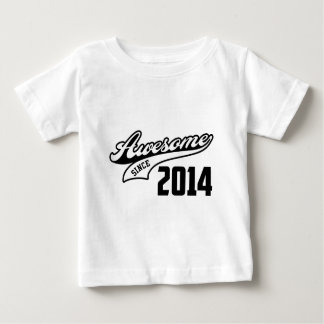 Awesome Since 2014 Baby T-Shirt