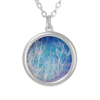 Awesome Sky Nature Image Silver Plated Necklace