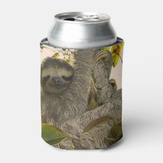 Awesome Sloth Can Cooler