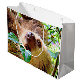 awesome Sloth Large Gift Bag