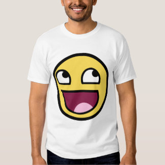 Awesome Smiley T Shirt