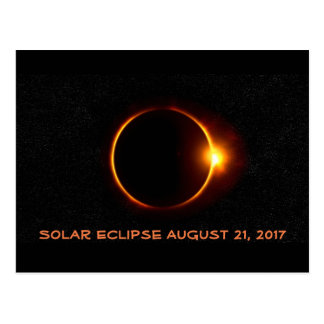 Awesome Solar Eclipse 2017 Post Card
