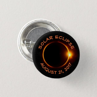 Awesome Solar Eclipse 2017 Round Button