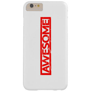 Awesome Stamp Barely There iPhone 6 Plus Case