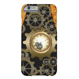 Awesome steampunk design barely there iPhone 6 case