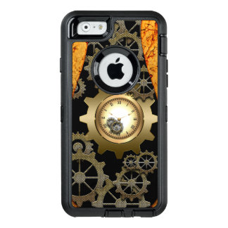 Awesome steampunk design with clocks and gears OtterBox iPhone 6/6s case