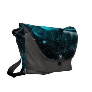 Awesome steampunk lady in the universe courier bags