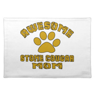 AWESOME STONE COUGAR MOM PLACE MATS