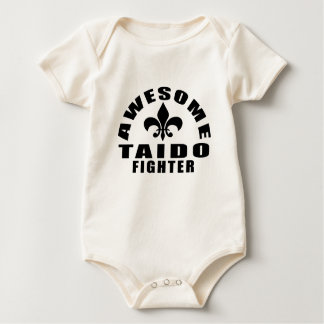AWESOME TAIDO FIGHTER BABY BODYSUIT