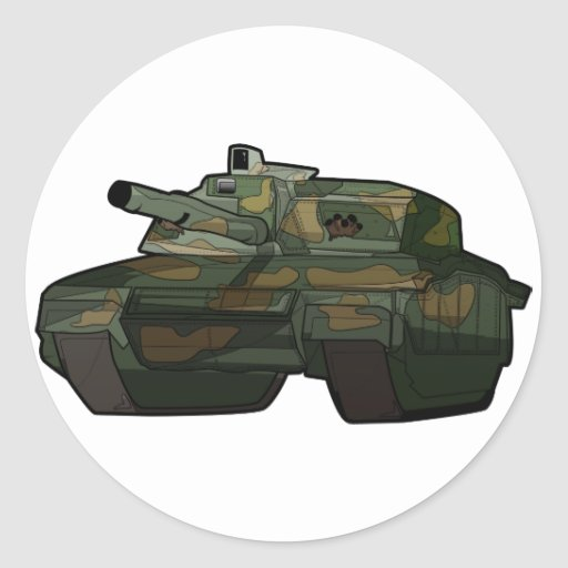 Awesome Tank Sticker