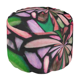 Awesome Tiffany Inspired Pouf