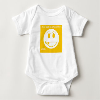 Awesome tooth- Baby shirt