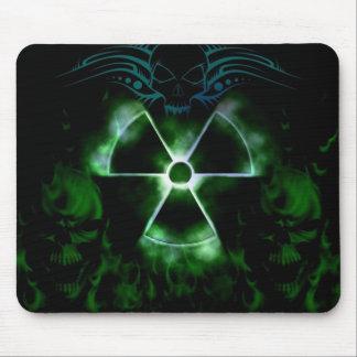 Awesome toxic skull mosepad mouse pad