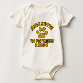 AWESOME TOY FOX TERRIER DADDY BABY BODYSUIT