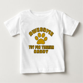 AWESOME TOY FOX TERRIER DADDY BABY T-Shirt
