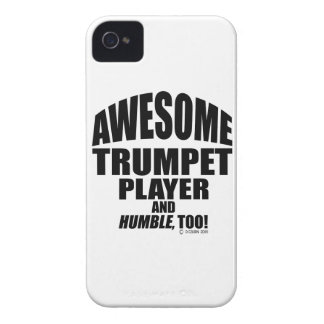 Awesome Trumpet Player iPhone 4 Case-Mate Case