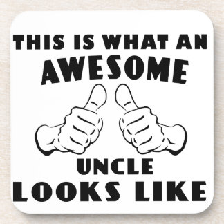 Awesome uncle coaster