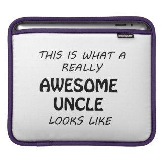Awesome Uncle iPad Sleeve