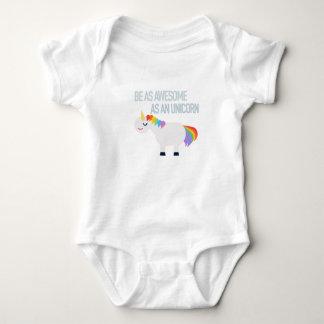 Awesome Unicorn Baby Jersey Bodysuit