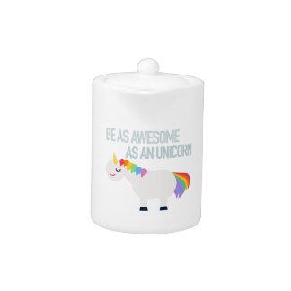 Awesome Unicorn Tea Pot