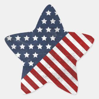 awesome usa flag grunge stars stripes stickers