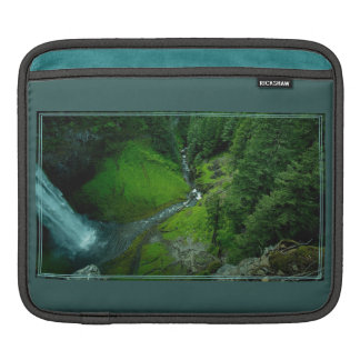 Awesome Waterfall Deep Creek iPad Sleeve