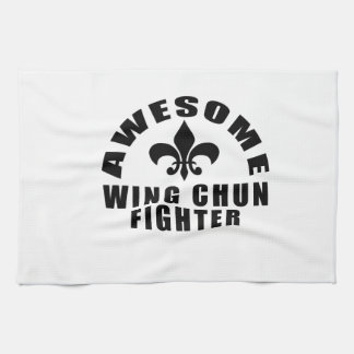 AWESOME WING CHUN FIGHTER TOWELS