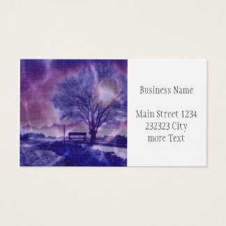 Awesome winter Impression B Business Card