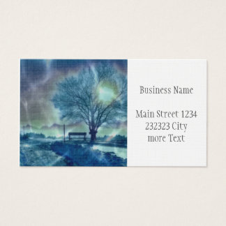 Awesome winter Impression Business Card