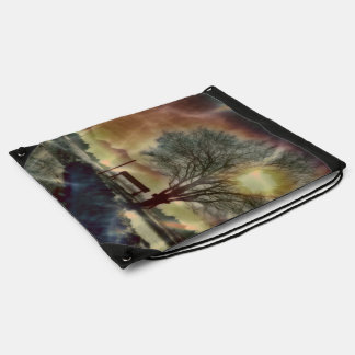 Awesome winter Impression C Drawstring Bag