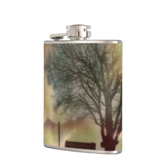 Awesome winter Impression C Hip Flask