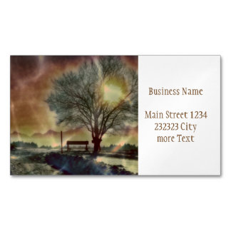 Awesome winter Impression C Magnetic Business Card